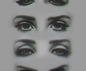 lana del rey, eyes, and drawing image