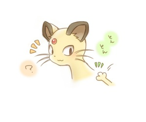 persian and pokemon image