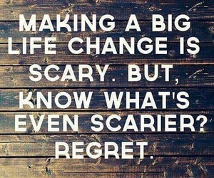 life, quotes, and regret image