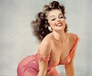 1940, 1950, and pinup girls image