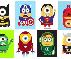 Marvel and minions image