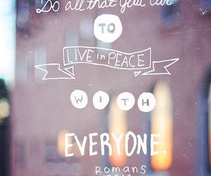 peace, god, and quote image