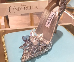 shoes, cinderella, and heels image