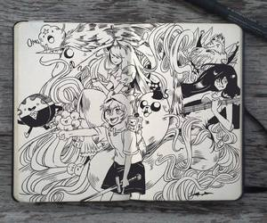 drawing and adventure time image