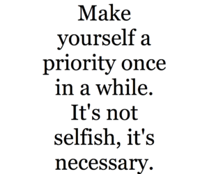 quotes, priority, and love image