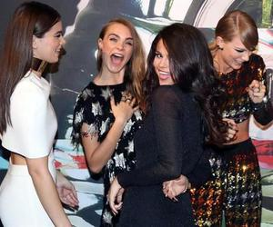 selena gomez, Taylor Swift, and cara delevingne image
