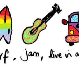 surf, jam, and van image