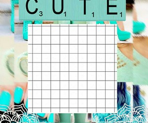 background, Collage, and girly image
