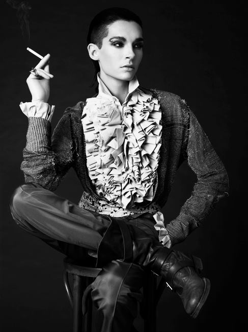Bill Kaulitz, a perfect model. — Tokio Hotel - Official US Fanclub