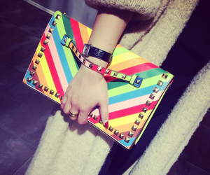 bags, fashion, and clutches image