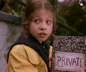 90s, girl, and Harriet the spy image