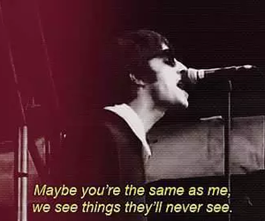 oasis, live forever, and Lyrics image