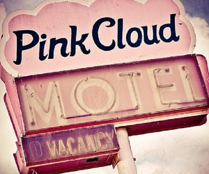 motel, old, and pink cloud image