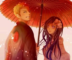 naruhina, naruto, and anime image