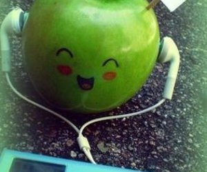 apple, music, and ipod image