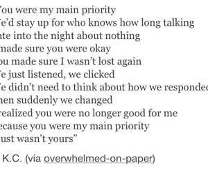 break up, heartbreak, and poem image