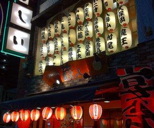 japan, lights, and tokyo image