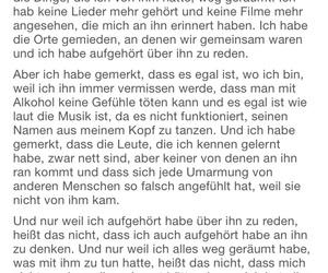 german, quote, and sad image