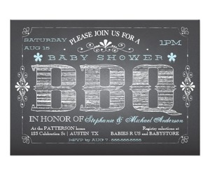 baby, baby shower, and barbecue image