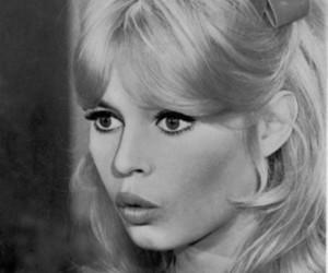brigitte bardot, vintage, and b&w image