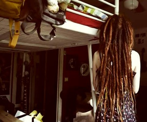 dreadlocks, dreads, and dreads girls image