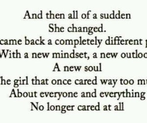 careless, changes, and suddenly image