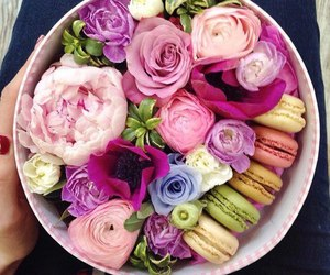 flowers, pink, and sweet image