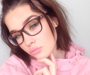 girl, pink, and pretty image