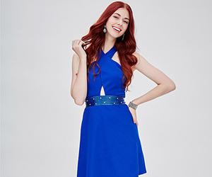 blue, dresses, and halter image