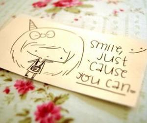 smile and quote image