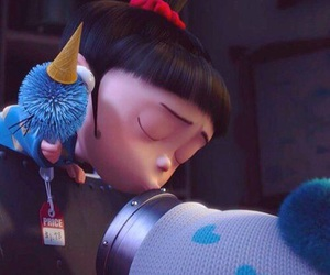 agnes and minions image