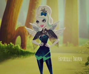 eah, ever after high, and faybelle thorn image