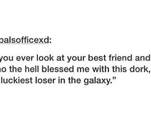 best friend, friendship, and tumblr image