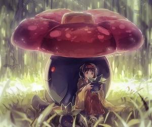 pokemon and anime girl image