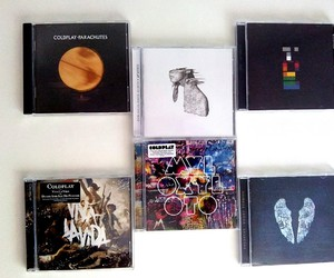 albums, coldplay, and ghost stories image