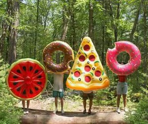 pizza, food, and summer image