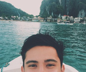 eyes, travel, and james reid image