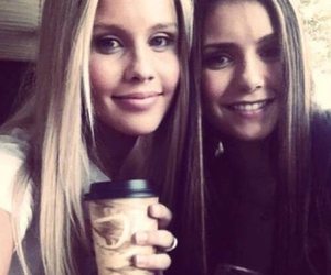 Nina Dobrev, claire holt, and the vampire diaries image