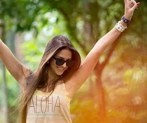 girl, Aloha, and hair image