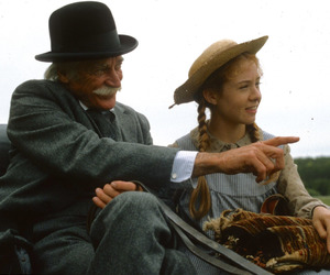 anne of green gables, anne shirley, and matthew cuthbert image