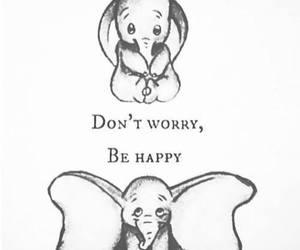 happy, dumbo, and elephant image
