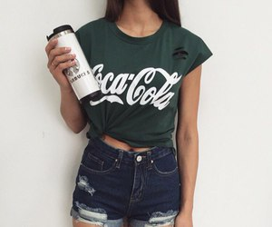 fashion, trend, and coca cola image