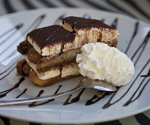 chocolate, food, and tiramisu image