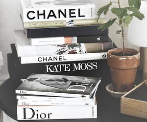 books, decor, and fashion image