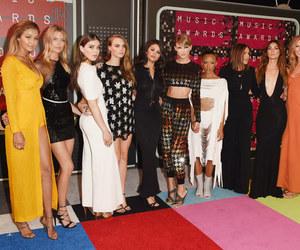 Taylor Swift, selena gomez, and gigi hadid image