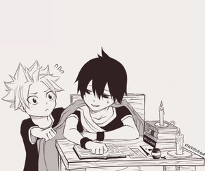 fairy tail, zeref, and natsu dragneel image