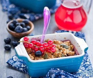 berries, delicious, and delicacy image
