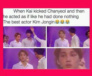 exo, funny, and kpop funny image