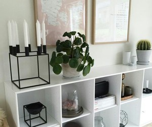 bedroom, black, and candles image