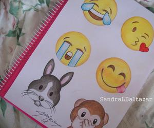 drawing, emoji, and art image